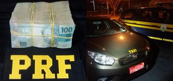 PRF apreende R$ 100 mil que seria entregue para candidato no Piauí