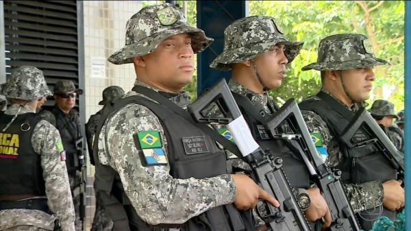 25 homens do Exército Brasileiro reforçarão a segurança em Corrente nessas eleições