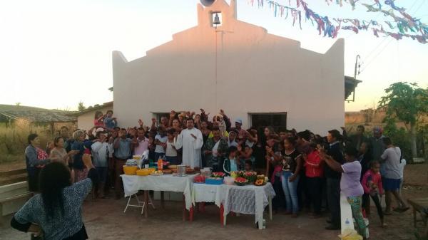 Está acontecendo o festejo de São João Batista no Boqueirão