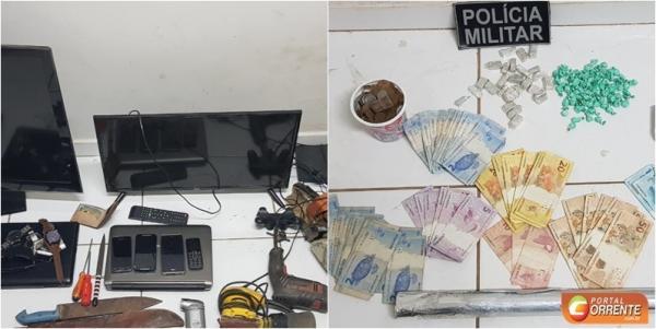 Polícia Militar prende traficante e apreende drogas em Monte Alegre