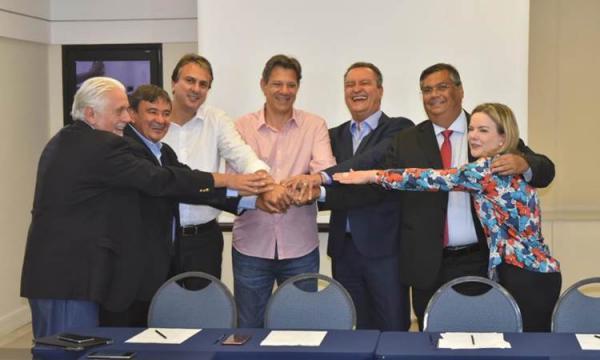 Wellington Dias participa de reunião com Haddad e governadores do PT