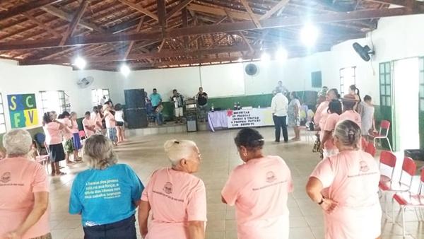 Assistência Social de São Gonçalo do Gurguéia homenageia os idosos