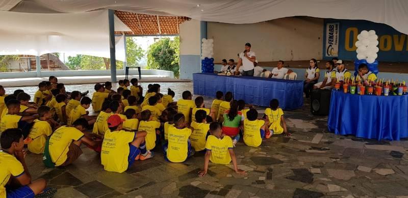 Bom Jesus: Projeto AABB COMUNIDADE recebe palestra sobre drogas