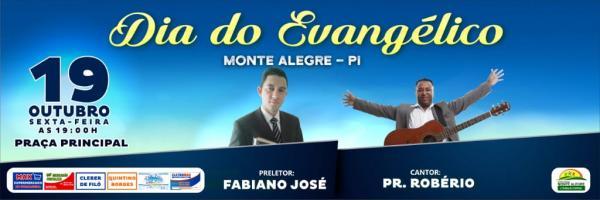 Dia do Evangélico será comemorado em Monte Alegre