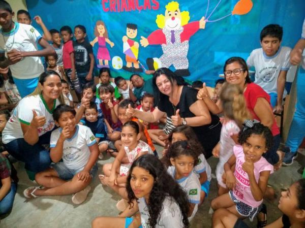 Em Bom Jesus, Projeto Conviver faz evento na Escola Tio Patinhas
