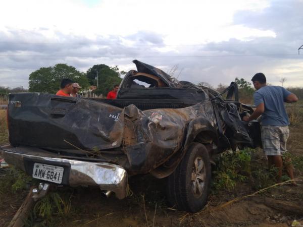 Feriado termina com dois mortos, uma das vítimas na BR-135 em Cristino Castro