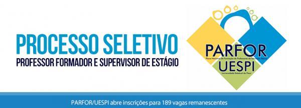 PARFOR/UESPI abre inscrições para 189 vagas remanescentes; Edital
