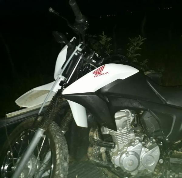 Polícia Civil de Bom Jesus recupera moto tomada de assalto