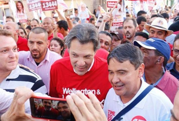 Haddad termina 2º turno com 76% dos votos no Piauí