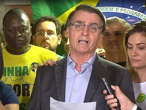 Jair Bolsonaro faz primeiro discurso como presidente eleito