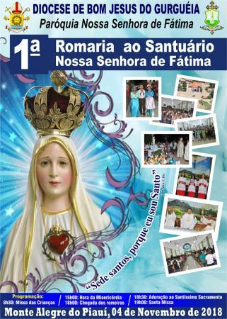 1ª Romaria Paroquial ao Santuário Nossa Senhora de Fátima