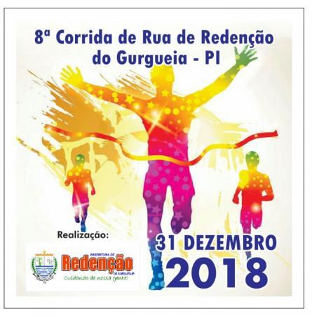 Corrida de Rua de Redenção do Gurguéia será realizada este ano pela Prefeitura Municipal