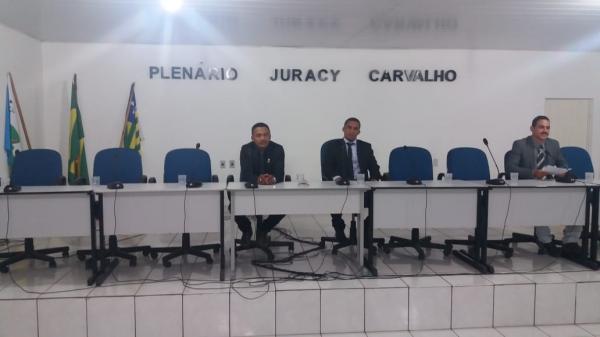 Câmara de vereadores de Gilbués não tem sessão por falta de quórum