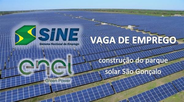 SINE atenderá a partir de segunda-feira (5) em São Gonçalo do Gurgueia
