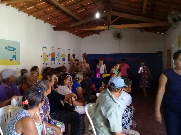 Mês da pessoa idosa é comemorado em Barreiras do PI