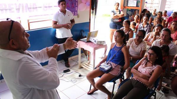 Dia 'D' contra o câncer de mama foi realizado em Santa Filomena