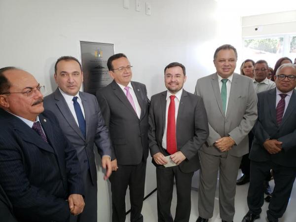 Novo Fórum da Comarca de Cristino Castro é inaugurado
