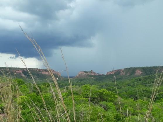 Outubro foi o mais chuvoso dos últimos 9 anos em Santa Filomena