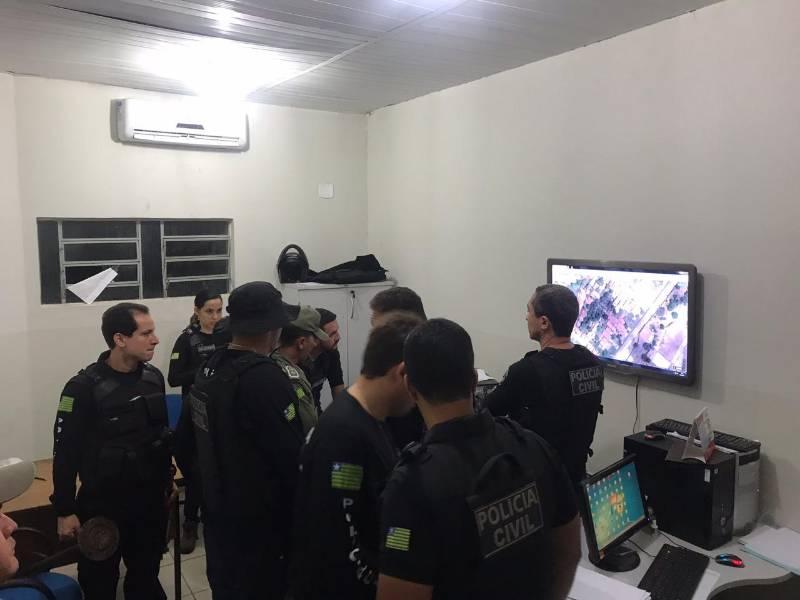 Operação Dominó é deflagrada em Uruçuí e mais 4 cidades