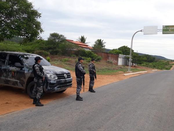 Operação Júri Seguro está sendo realizada na cidade de Parnaguá