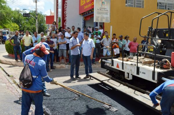 Prefeitura de Bom Jesus inicia o Programa 'Pavimenta Mais'