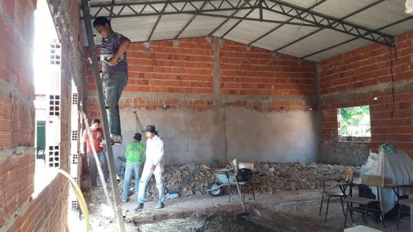 Assembleia de Deus de Barreiras do PI está construindo um novo templo