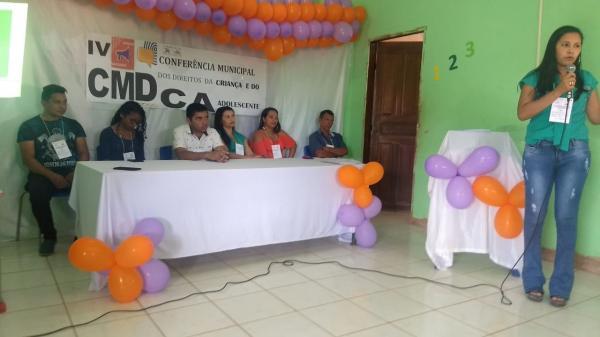 Currais realiza Conferência Municipal dos Direitos da Criança e do Adolescente
