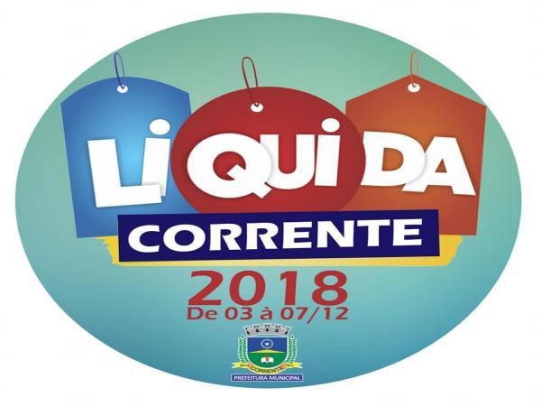 2ª Edição do 'Liquida Corrente' acontece na primeira semana de dezembro