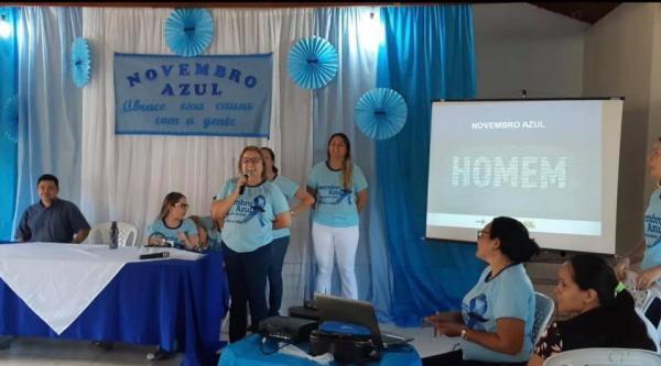 Santa Luz realiza campanha em alusão ao Novembro Azul