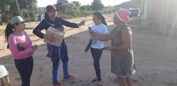 Morro Cabeça no Tempo realiza mobilização contra o Aedes Aegypti