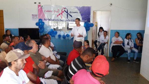 Campanha Novembro Azul é realizada em Morro Cabeça no Tempo