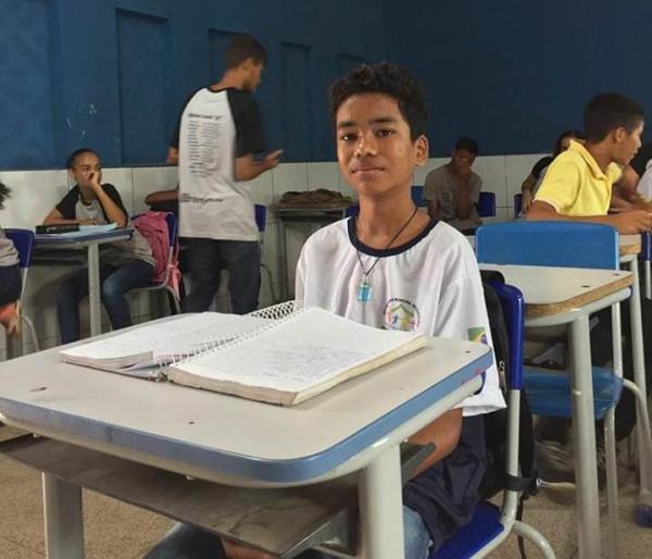 Educação de Monte Alegre parabeniza o aluno Guilherme Cavalcante