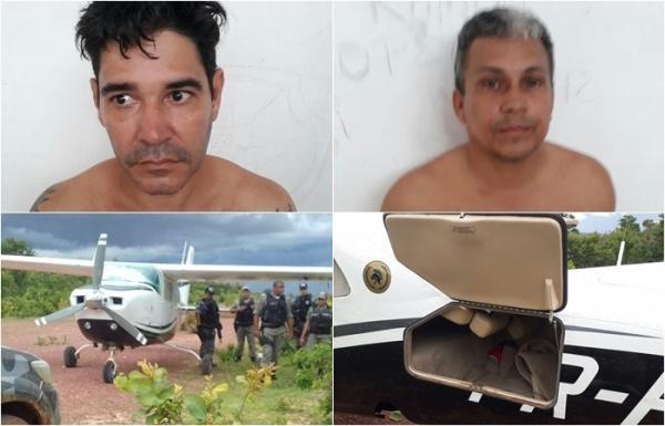 Traficantes presos com avião clandestino são condenados pela justiça