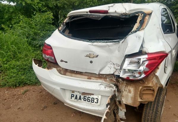 Mulher morre após acidente em Cristalândia do Piauí