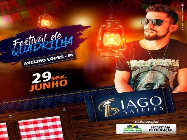 Dia 29 tem Festival de Quadrilhas em Avelino Lopes-PI