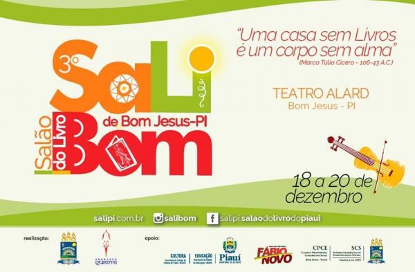 SaLiBom: 3ª edição do Salão do Livro de Bom Jesus