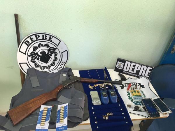 4 pessoas foram presas em Parnaguá após Operação da DEPRE