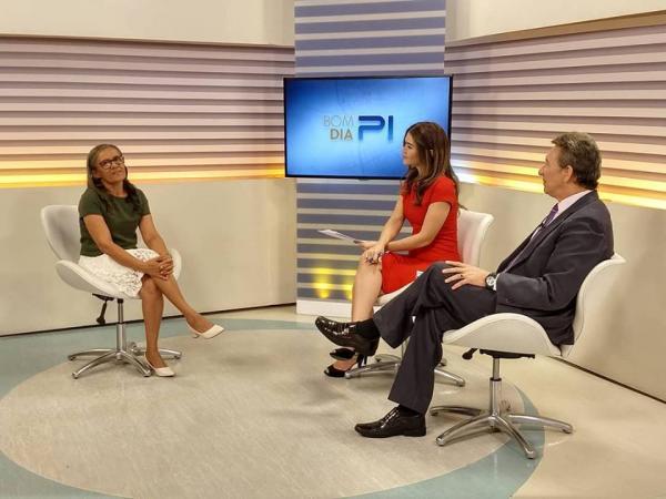 TV Clube: Sidinei é entrevistada sobre a qualidade do IDEB