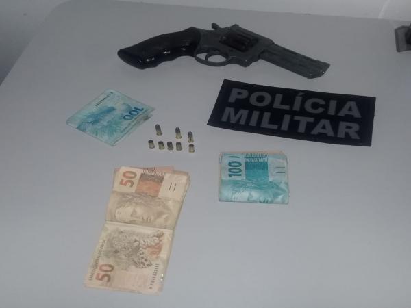 Homens são presos por porte ilegal de arma de fogo em Curimatá