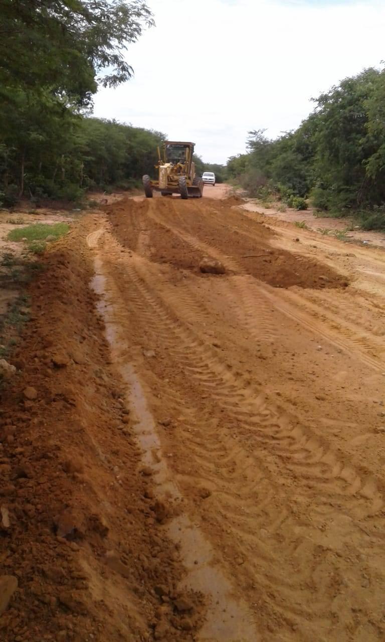 Prefeitura de Redenção intensifica recuperação de estradas vicinais