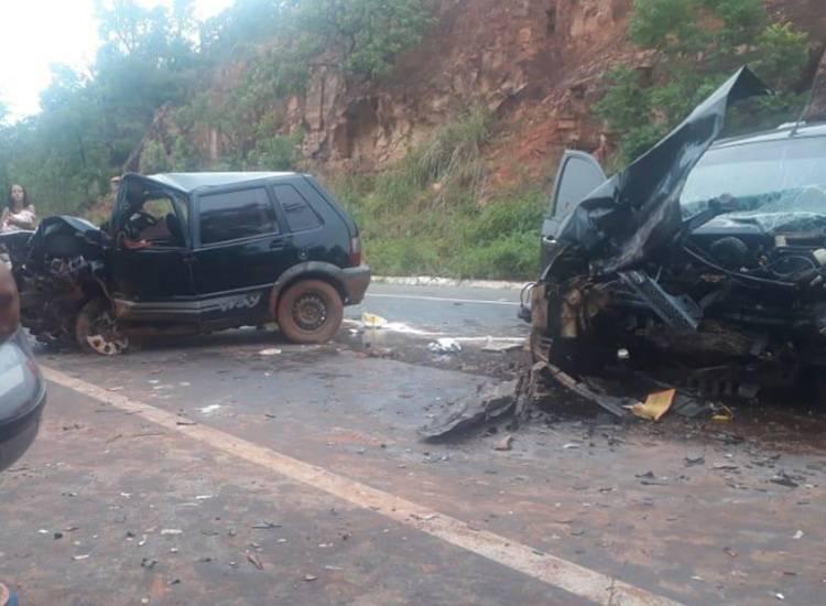 Grave acidente na BR 135 deixa vítima fatal