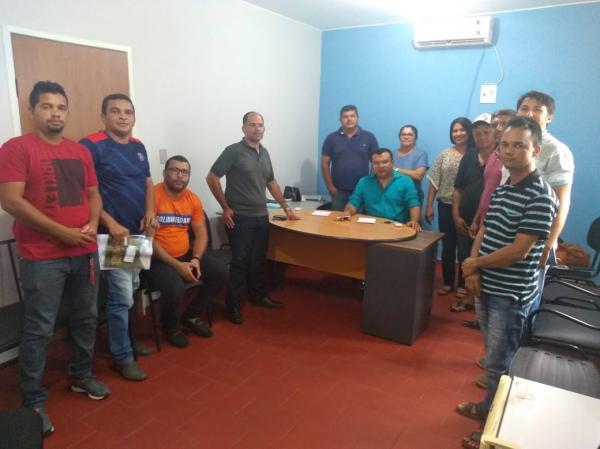 Dr. Macaxeira se reuniu com secretários de Redenção do Gurguéia