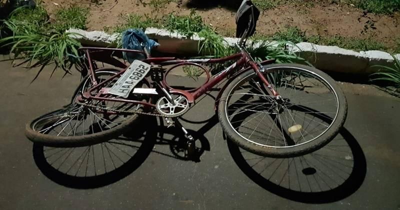 Ciclista morre atropelado na BR 135