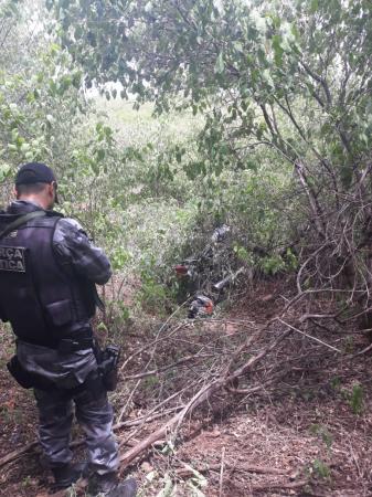 Força Tática de Avelino Lopes apreende moto utilizada em roubos