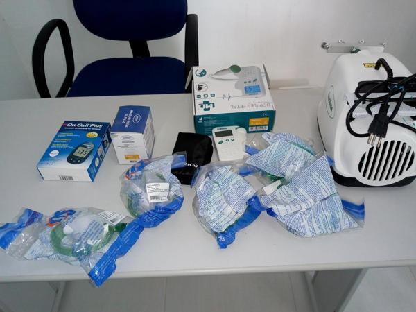 João da Cruz entrega equipamentos para as UBS de Palmeira do PI