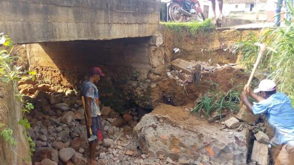 Prefeitura de Redenção inicia obras para recuperação de Ponte