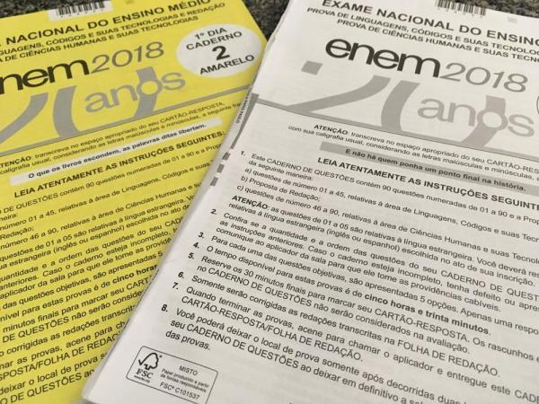 ENEM 2018: Resultado será divulgado nesta sexta-feira (18)