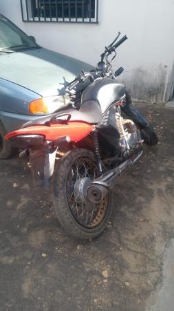 Polícia Militar recupera moto roubada em Curimatá