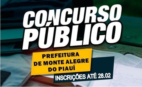 Concurso Público de Monte Alegre do PI