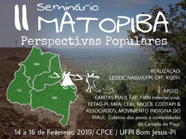 Está acontecendo em Bom Jesus o II Seminário Matopiba